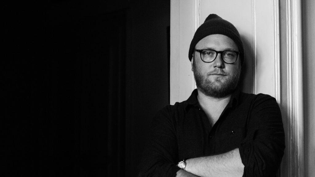 Portrait schwarz-weiß für Max Strohe tulus lotrek Berlin für Food Fellas