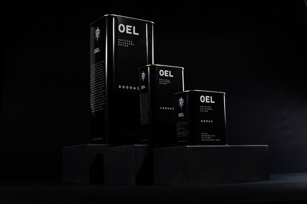 OEL Kanister verschiedene Größe, Foto für Food Fellas