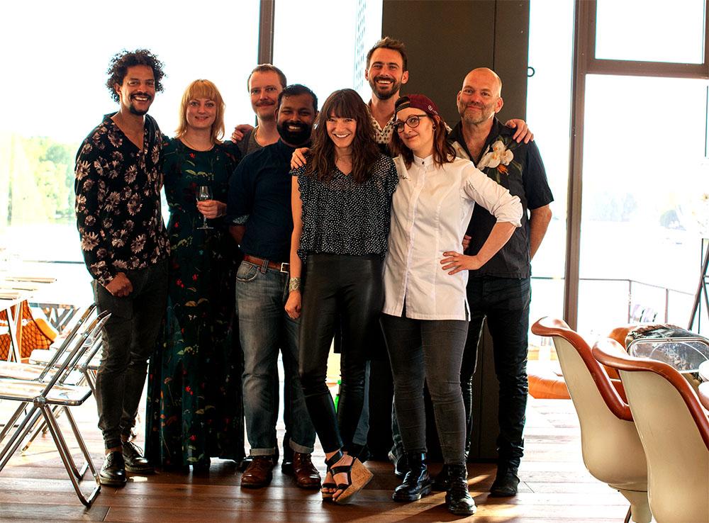 Team Food Boogie fotografiert für Food Fellas Blog
