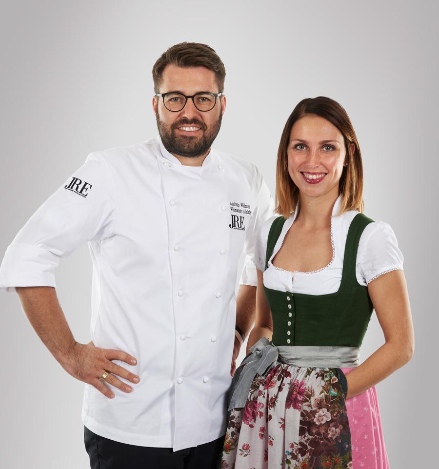 Anna und Andi Widmann Restaurant Ursprung, Food Fellas Interview