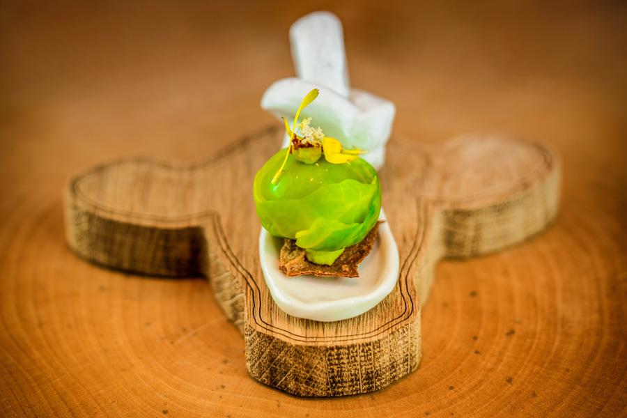 Kuhkopf Teller Andi Widmann restaurant Ursprung, Interview Food Fellas Blog