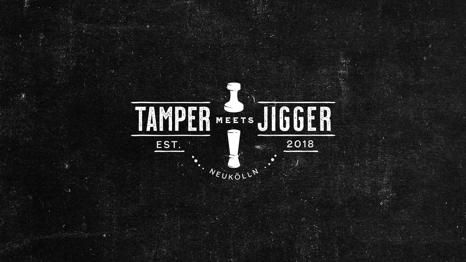 tamper meets jigger Logo