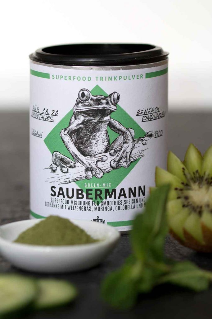 Berlin ORganics Dose Saubermann Verlosung Food Fellas